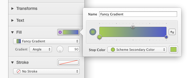 Gradient Well Editor