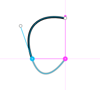 Bézier Snapping