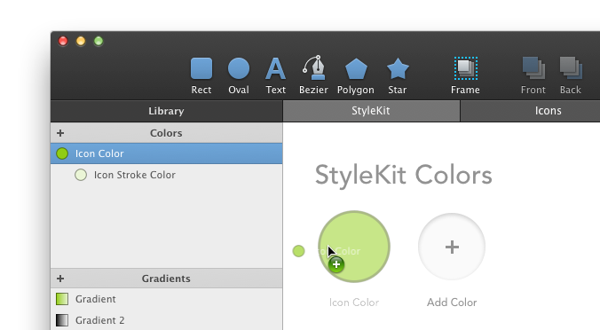 Adding a color to StyleKit Catalog