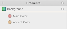 Dragging Colors Into Gradients