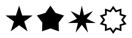 Examples of Stars